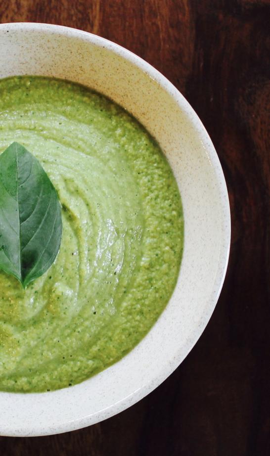 Recipe: Creamy Vegan Broccoli Soup