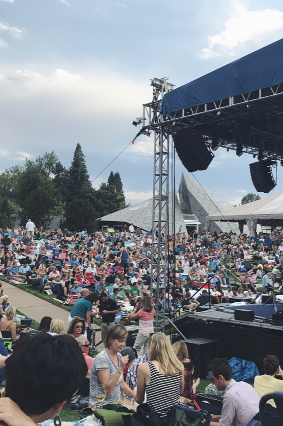 Gipsy Kings at the Denver Botanic Gardens