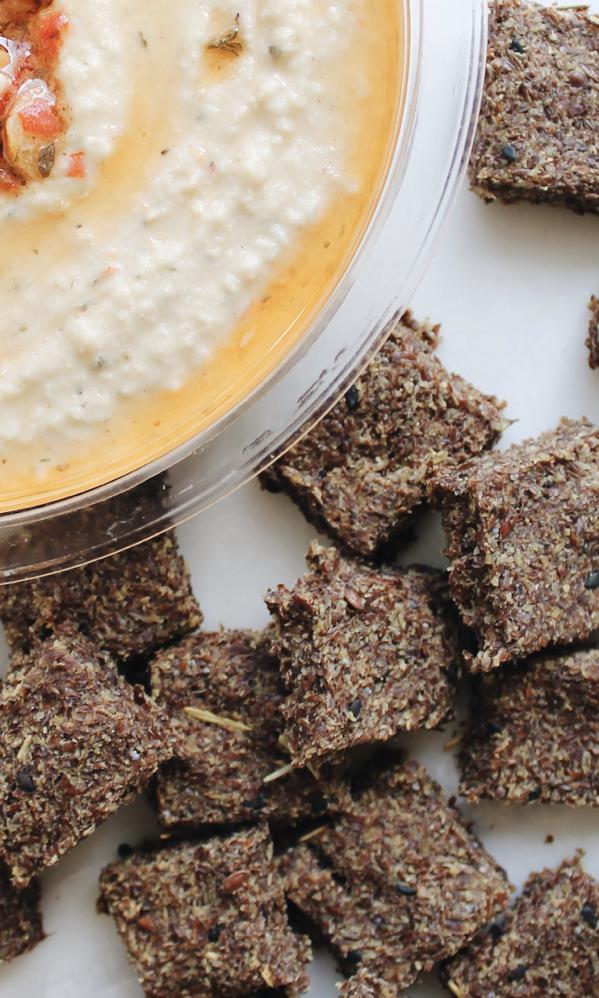Recipe: Rosemary and Hummus