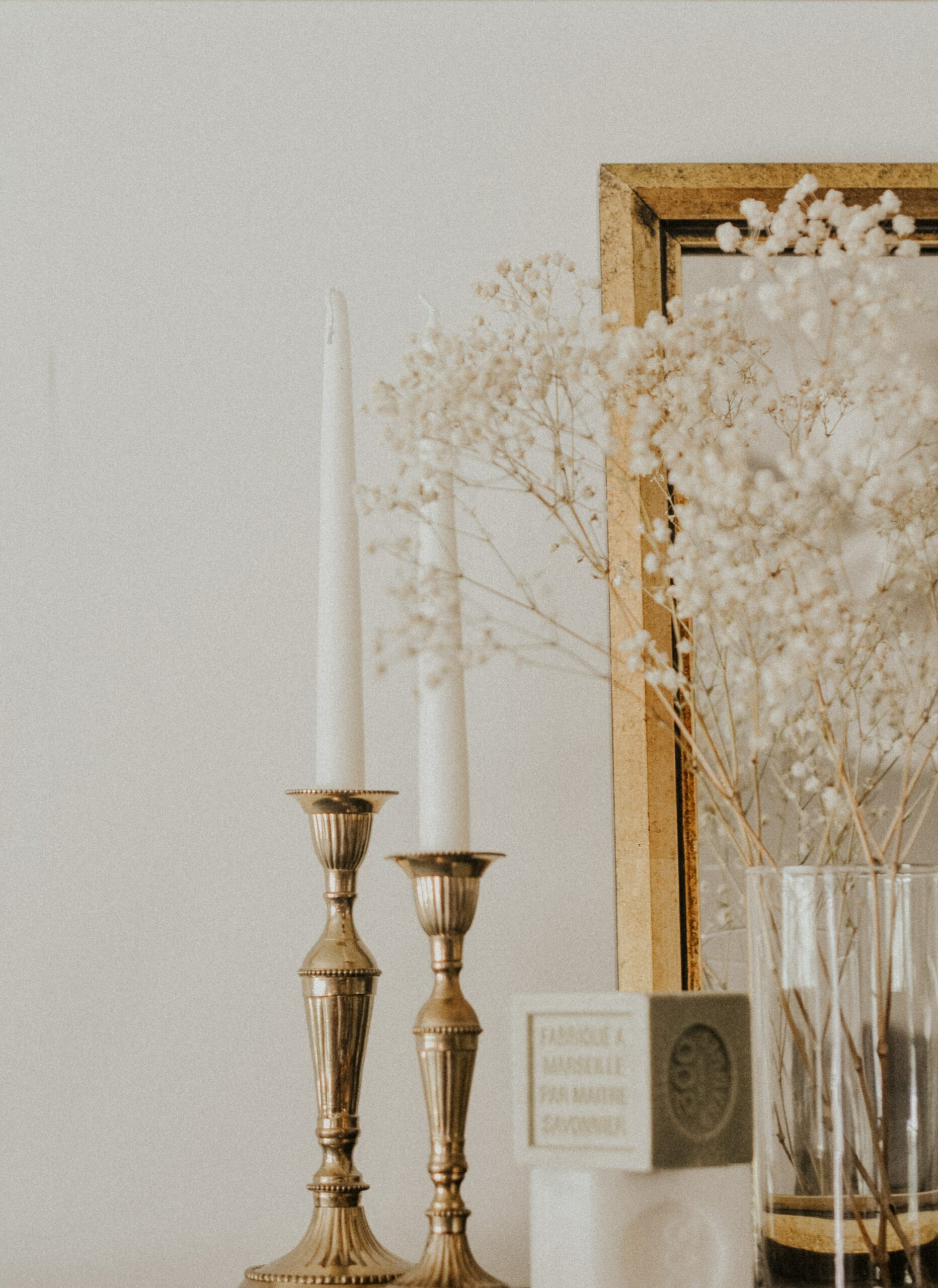 Living Simple: Candlestick Holders